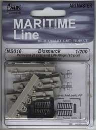 CMK Czech Master  1/200 Bismarck Paravanes and Life Rings (TRP) CZN200016