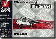 Czech Model  1/48 Collection - Messerschmitt Me.263A-1 Prototype CZM4801