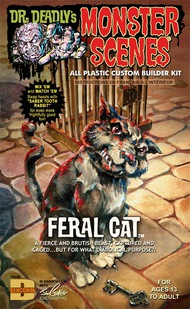 Monster Scenes: Feral Cat #DEN712