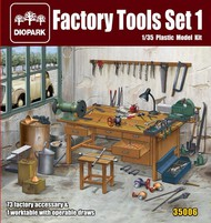 Diopark  1/35 Factory Tool Set Part 1 - Pre-Order Item DIO35006