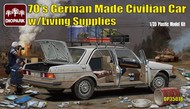Diopark  1/35 1970s German Made Civilian Car w/Living Supplies- Net Pricing DIO35018
