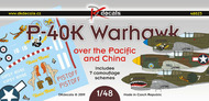 Curtiss P-40K Warhawk over the Pacific and China #DKD48023