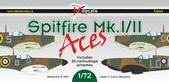 Supermarine Spitfire Mk.I/Mk.II Aces (30 camouflage schemes) #DKD72045