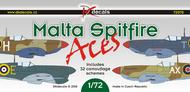 Supermarine Spitfire Malta Aces 32 schemes! #DKD72070