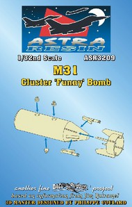 Daco Products  1/32 M31 Cluster Funny Bomb (Resin Armament) (D)<!-- _Disc_ --> DCO3209