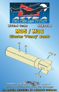 Daco Products  1/32 M35/M36 Cluster Funny Bomb (Resin Armament) (D)<!-- _Disc_ --> DCO3210