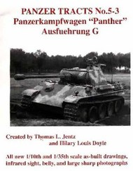 Panzer Tracts No.5-3 Pz.Kpfw. Panther Ausf G #PZT053