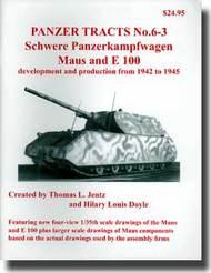 Panzer Tracts No.6-3 Schwere Pz.Kpfw. Maus & E100 #PZT063
