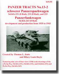 Panzer Tracts No.13-2 Schwerer Pz.Spaeh.Wg & Pz.FuWg #PZT13-2