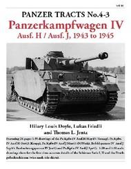 Panzer Tracts No.4-3 Pz.Kpfw.IV Ausf H & J 1943 to 1945 #PZT43