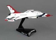 DARON COLLECTIBLES  1/126 F16 Fighting Falcon Thunderbirds Aircraft DWT53992