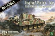 Das Werk  1/35 Pz.Kpfw.V Panther A Late 2 in 1 w/o Interior DW35011