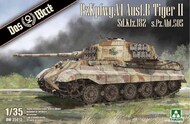 Das Werk  1/35 Pz.Kpfw.VI Ausf.B Tiger II Sd.Kfz.182 - s.Pz.Abt.505 - Pre-Order Item DW35013