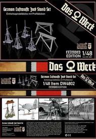 Das Werk  1/48 Luftwaffe Jack Stand Set - Extended DW48002