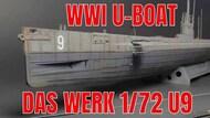 Das Werk  1/72 U-Boat S.M. U-Boot U9 WW I German Submarine DW72001