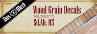 Das Werk  1/35 Wood Grain Decals for Sd.Ah. 155- DW35003 DWA001