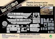 Das Werk  1/35 Zimmerit Set for Panther Early (DB Pattern) - Pre-Order Item DWA014