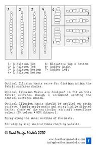 Mitsubishi A6M3m 22 Reisen Control Surfaces #DDMSM48011