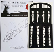 Nakajima Ki-43-I Hayabusa Control Surfaces #DDMSM48012
