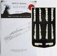 Yokosuka D4Y1/D4Y2/D4Y3/D4Y4 Suisei Control Surfaces #DDMSM48015