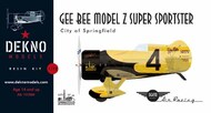 Gee Bee Model Z 'City Of Springfield' #AR721200