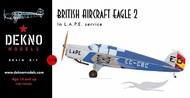 British Aircraft Eagle 2 EC-CBC #CW720300