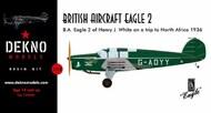 British Aircraft Eagle 2 G-ADYY of Henry J. White #GA720900