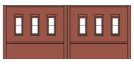 Design Preservation Model  N Dock Level Window DPM60102