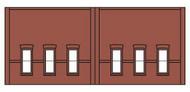 Design Preservation Model  N Dock Level Window Lower DPM60103