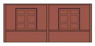 Design Preservation Model  N Dock Freight Door DPM60105