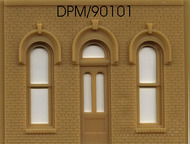 Design Preservation Model  O O Arched Entry Door DPM90101