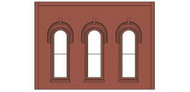 Design Preservation Model  O Arched Window Wall DPM90102