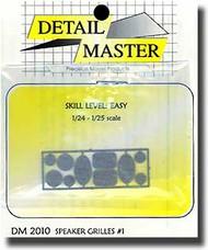 Detail Master Accessories  1/24 Speaker Grill #1 (10) DM2010