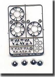 Detail Master Accessories  1/24 Blower Scoop Hardware Kit DM2025
