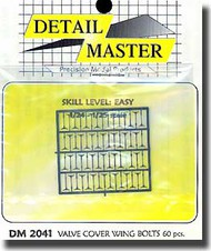 Detail Master Accessories  1/24 Valve Cover Wing Bolts DM2041