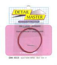 Detail Master Accessories  1/24-1/25 2ft. Ignition Wire Red DTM1025