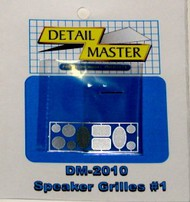Detail Master Accessories  1/24-1/25 Speaker Grilles #1 (5 Sets) DTM2010