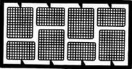 Detail Master Accessories  1/24-1/25 Rectangular Headlight Screens DTM2032