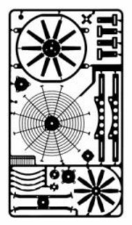 Detail Master Accessories  1/24-1/25 Electric Fan Kit DTM2390