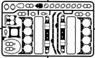 Detail Master Accessories  1/24-1/25 Gaskets Small Block Chevy DTM2430