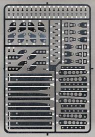 Detail Master Accessories  1/24-1/25 Stock Car Hood Hinges & Supports DTM2450