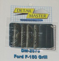 Detail Master Accessories  1/24-1/25 Ford F150 Grille (7pc) (D)<!-- _Disc_ --> DTM2575