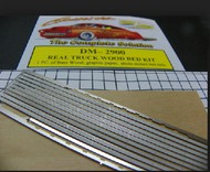 Detail Master Accessories  1/24-1/25 Truck Wood Bed Kit DTM2900