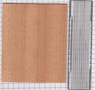 Detail Master Accessories  1/24-1/25 Truck Bed Kit: Mahogany Wood & Photo-Etch Bed Rails DTM2901