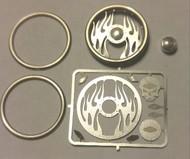 Detail Master Accessories  1/24-1/25 Inferno Billet Steering Wheel Kit (Reissue) DTM3122
