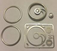 Detail Master Accessories  1/24-1/25 Fury Billet Steering Wheel Kit (Reissue) DTM3124