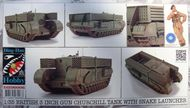 Ding-Hao Hobby  1/35 Churchill 3 inch Gun Carrier with 25+25 Snake DH96006