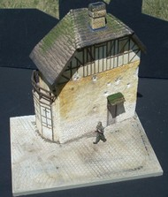 "Dioramas Plus  1/35 Juno 2-Story Beach House w/Base (8""x10.5"") DPL17"