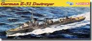 DML/Dragon Models  1/350 German Z-31 Destroyer DML1054