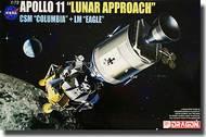 Apollo 11 Lunar Approach CSM Columbia + LM Eagle #DML11001